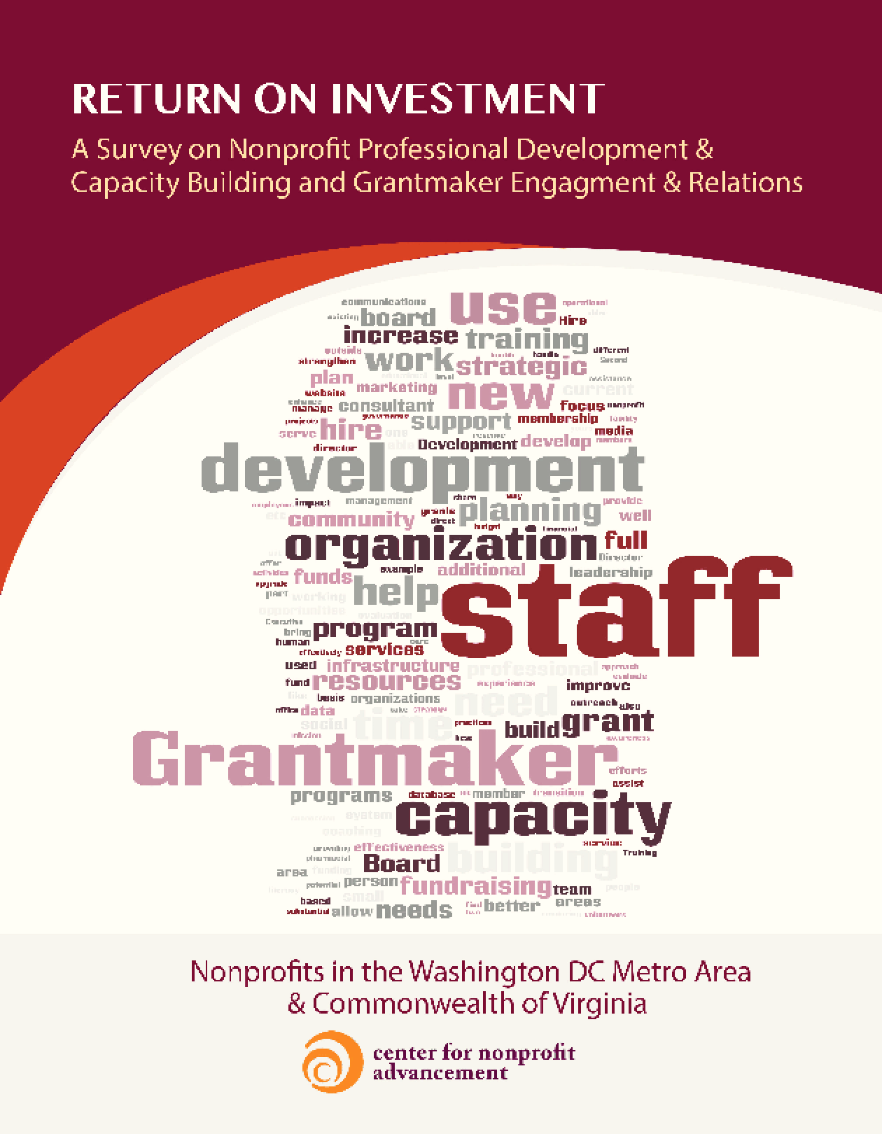 Return on Investment: A Survey on Nonprofit Professional Development & Capacity Building and Grantmaking Engagement & Relations