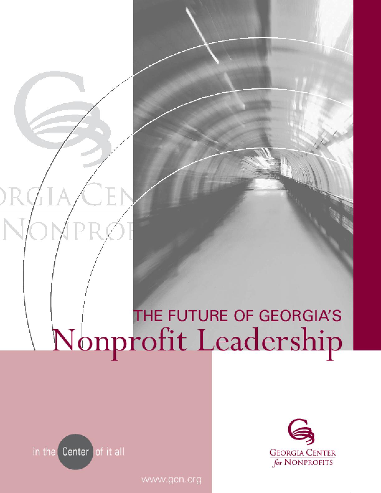 The Future of Georgia's Nonprofit Leadership
