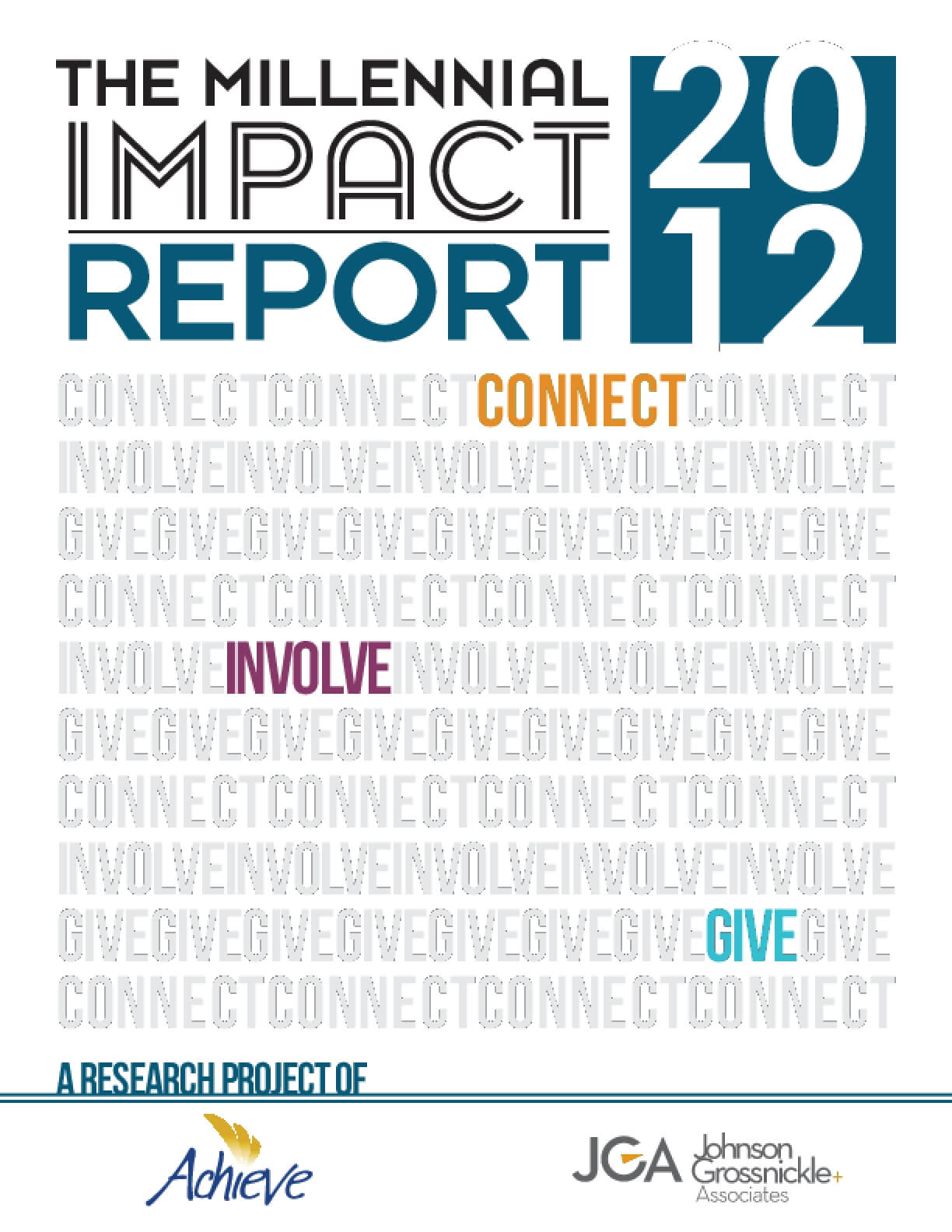 The Millennial Impact Report 2012