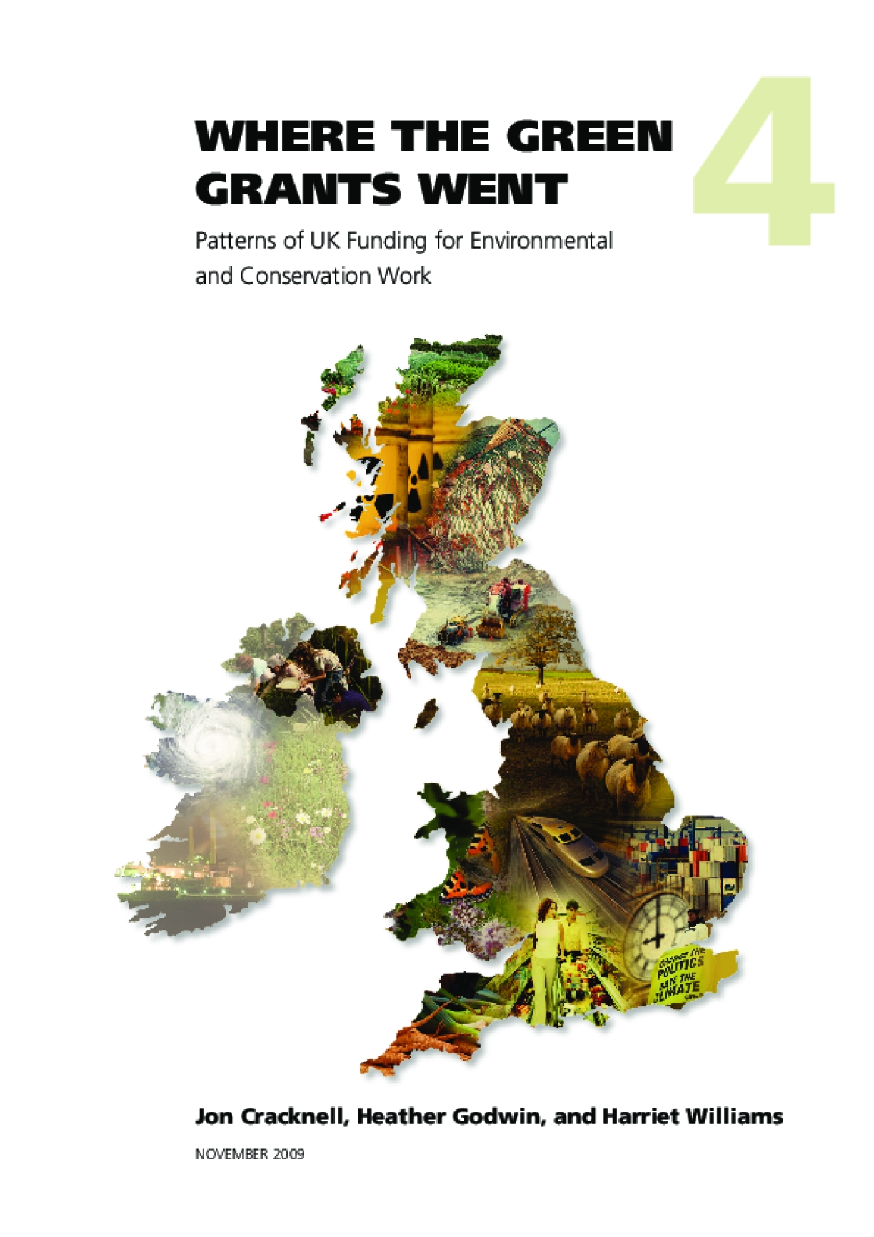 Where the Green Grants Went: Patterns of UK Funding for Environmental and Conservation Work