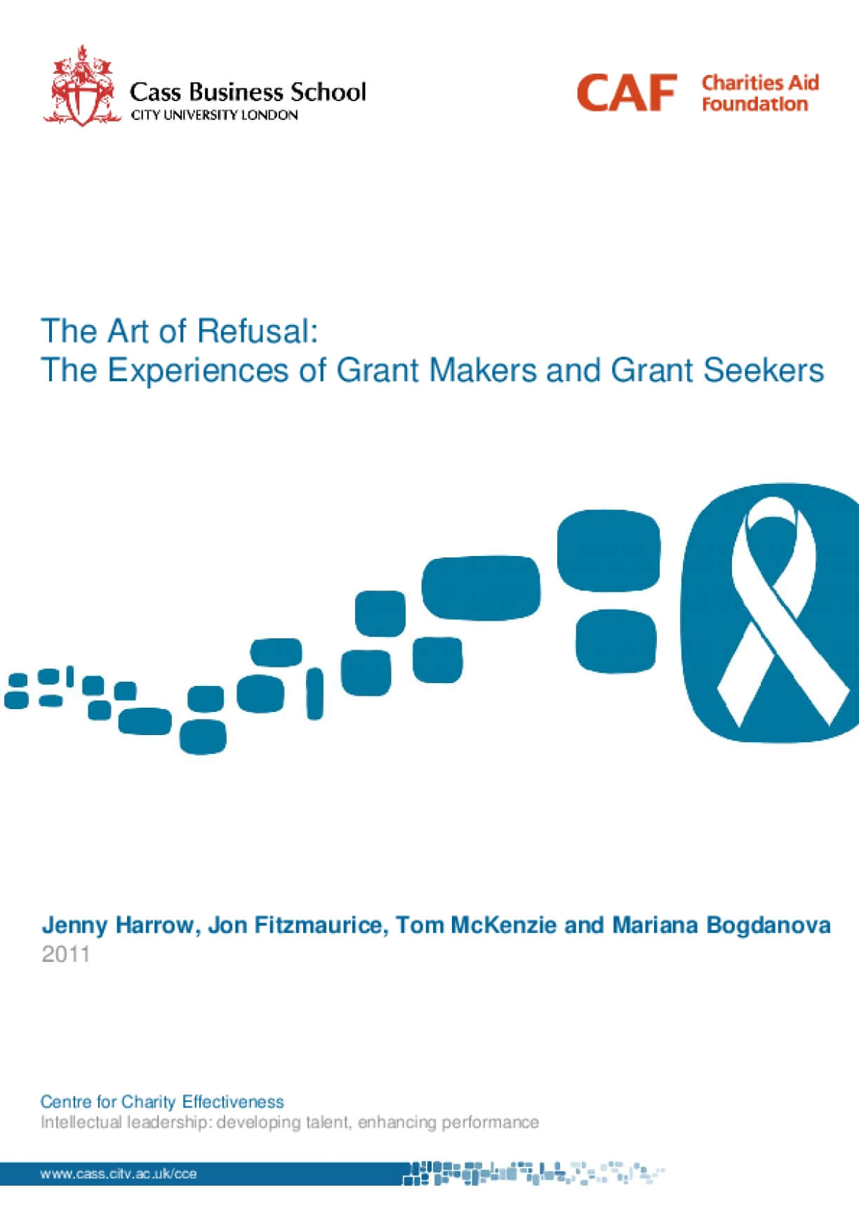 The Art of Refusal: The Experience of Grant Makers and Grant Seekers
