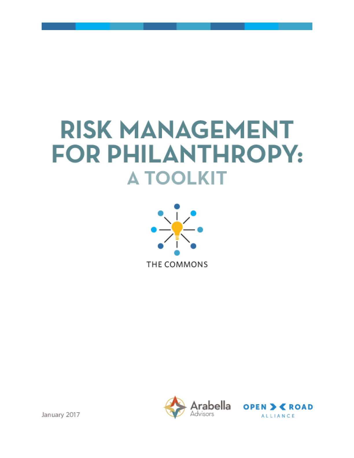 Risk Management for Philanthropy: A Toolkit
