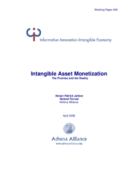 Intangible Asset Monetization: The Promise and the Reality