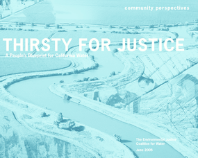 Thirsty for Justice: A People's Blueprint for California Water - Community Perspectives Booklet