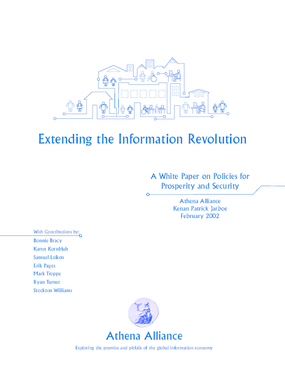 Extending the Information Revolution