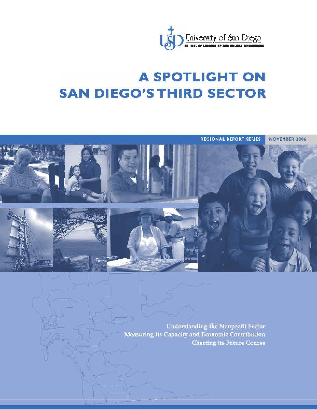 A Spotlight on San Diego's Third Sector