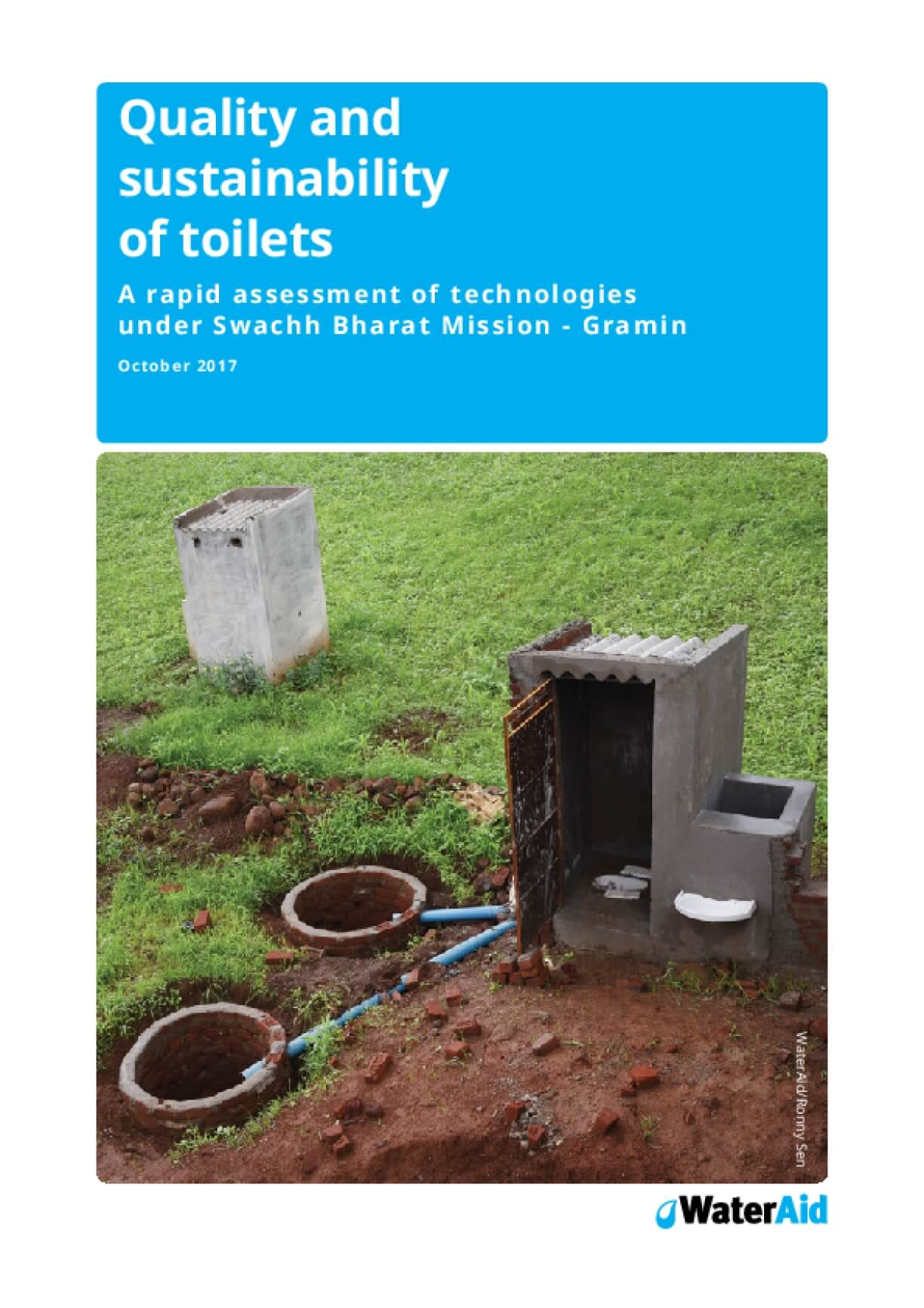 Quality and Sustainability of Toilets: A Rapid Assessment of ...