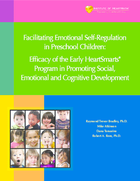 Facilitating Emotional Self-Regulation in Preschool Children: Efficacy of the Early HeartSmarts Program in Promoting Social, Emotional and Cognitive Development