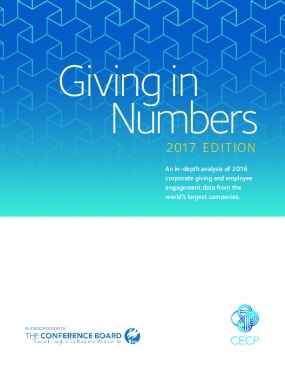 Giving in Numbers: 2017 Edition