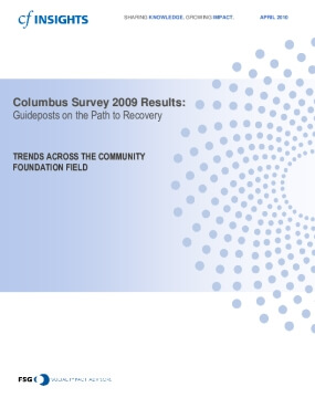 2009 Columbus Survey Results: Guideposts on the Path to Recovery