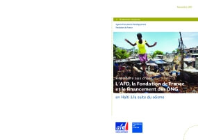 Répondre aux Crises: L'AFD, La Fondation de France et le Financement des ONG en Haïti à la Suite du Séisme