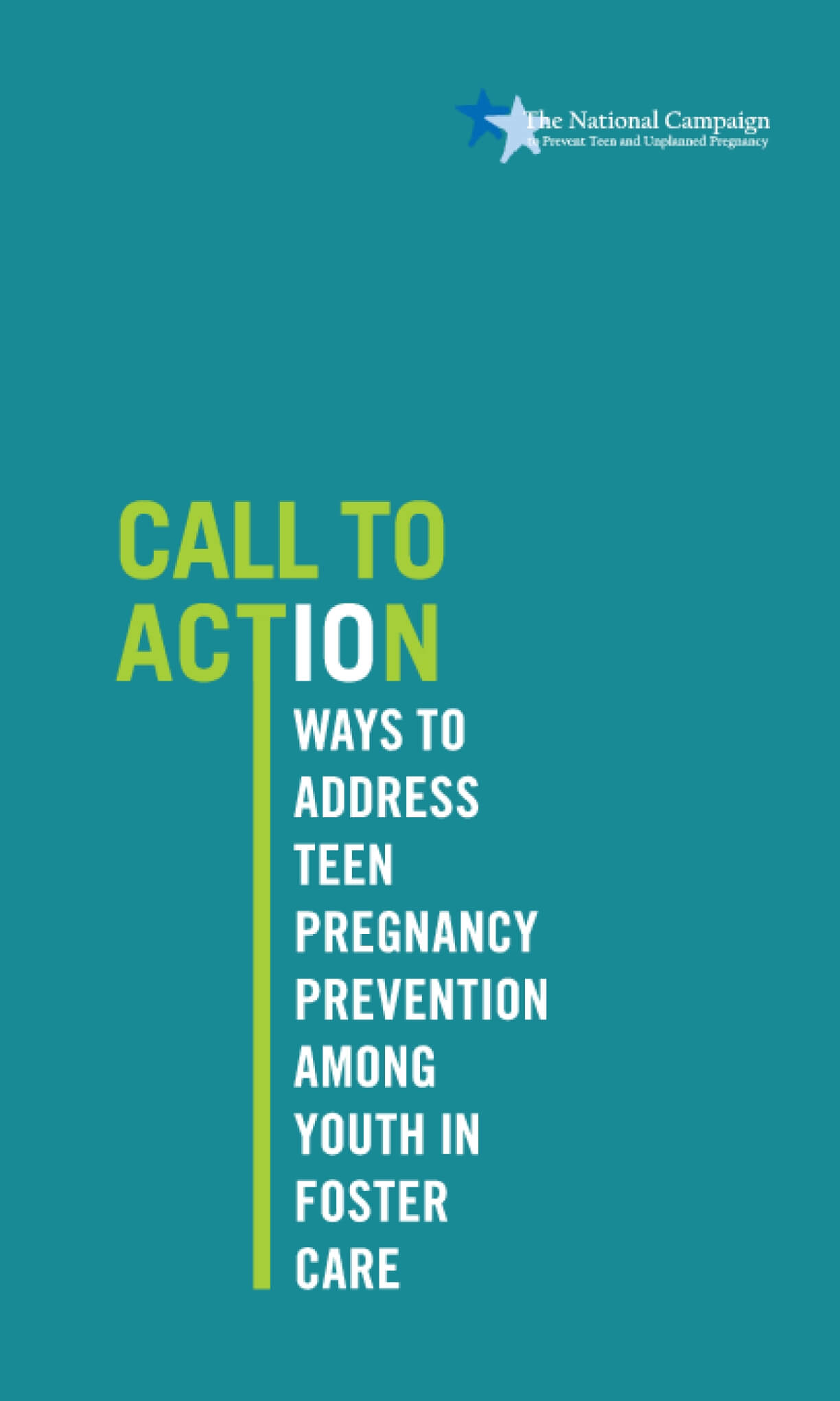 Call to Action: 10 Ways to Address Teen Pregnancy Prevention Among Youth in Foster Care