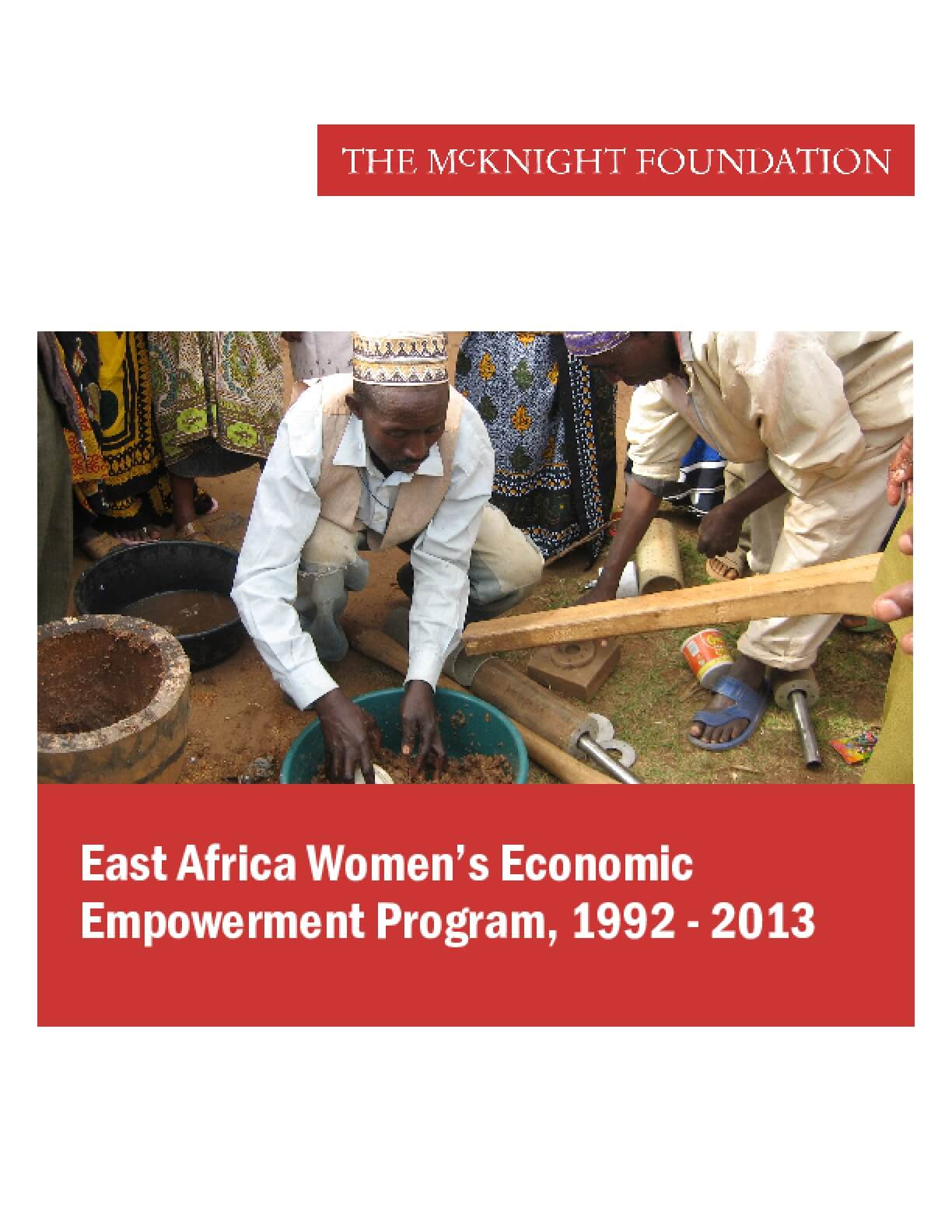 East Africa Women's Economic Empowerment Program, 1992-2013