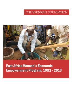 East Africa Women's Economic Empowerment Program, 1992-2013