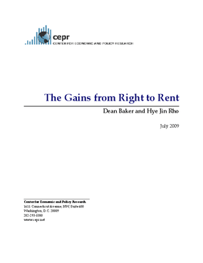 The Gains from Right to Rent