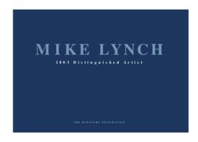 Mike Lynch: 2003 McKnight Distinguished Artist