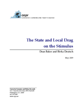 The State and Local Drag on the Stimulus
