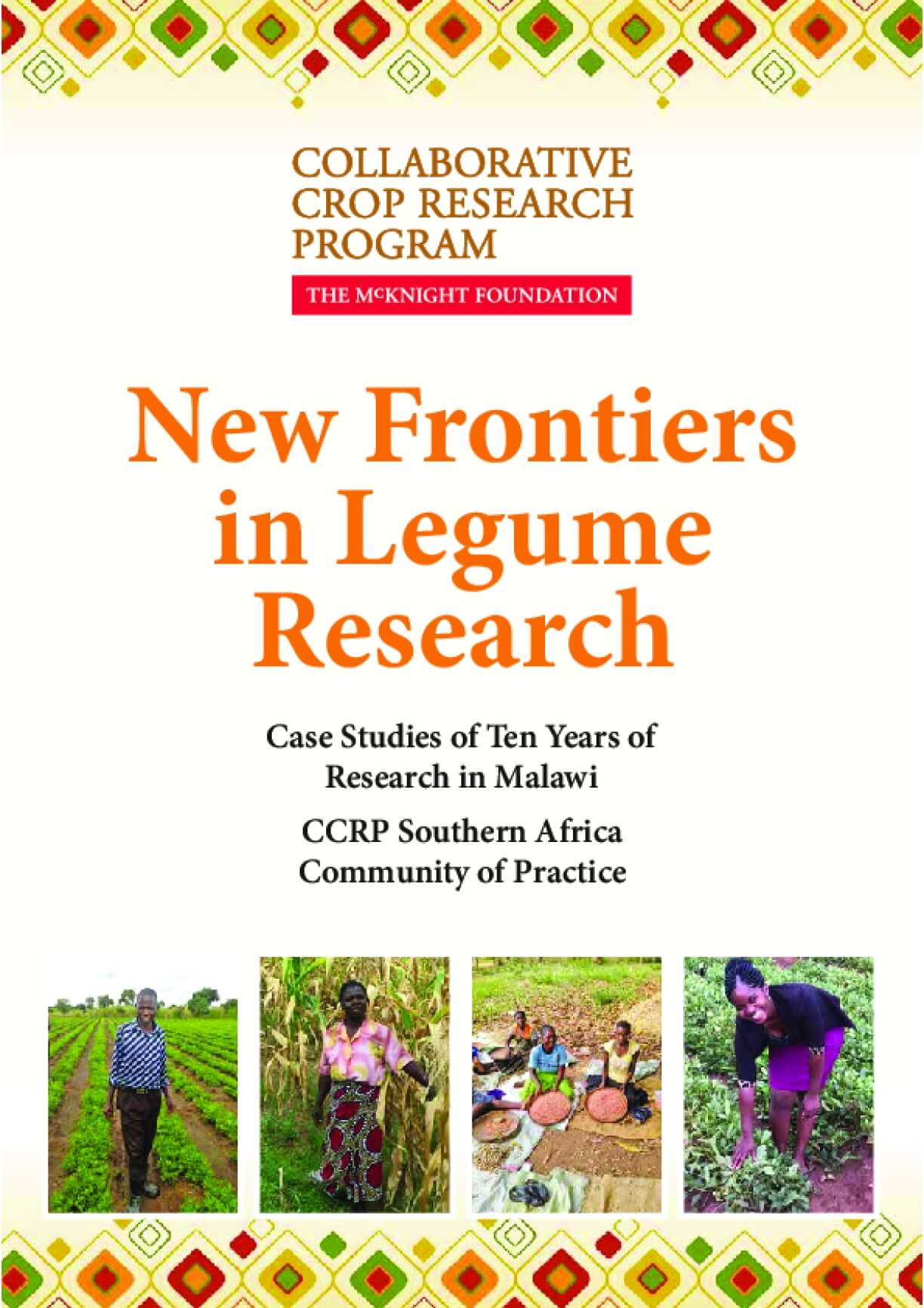 New Frontiers in Legume Research