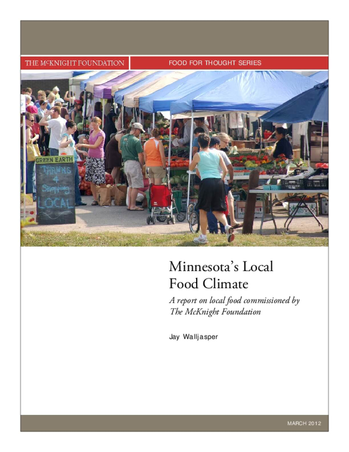 Minnesota's Local Food Climate