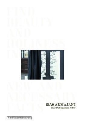 Siah Armajani: 2010 Distinguished Artist