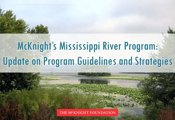 Mississippi River Program Update