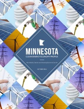 Minnesota's Clean Energy Economy profile