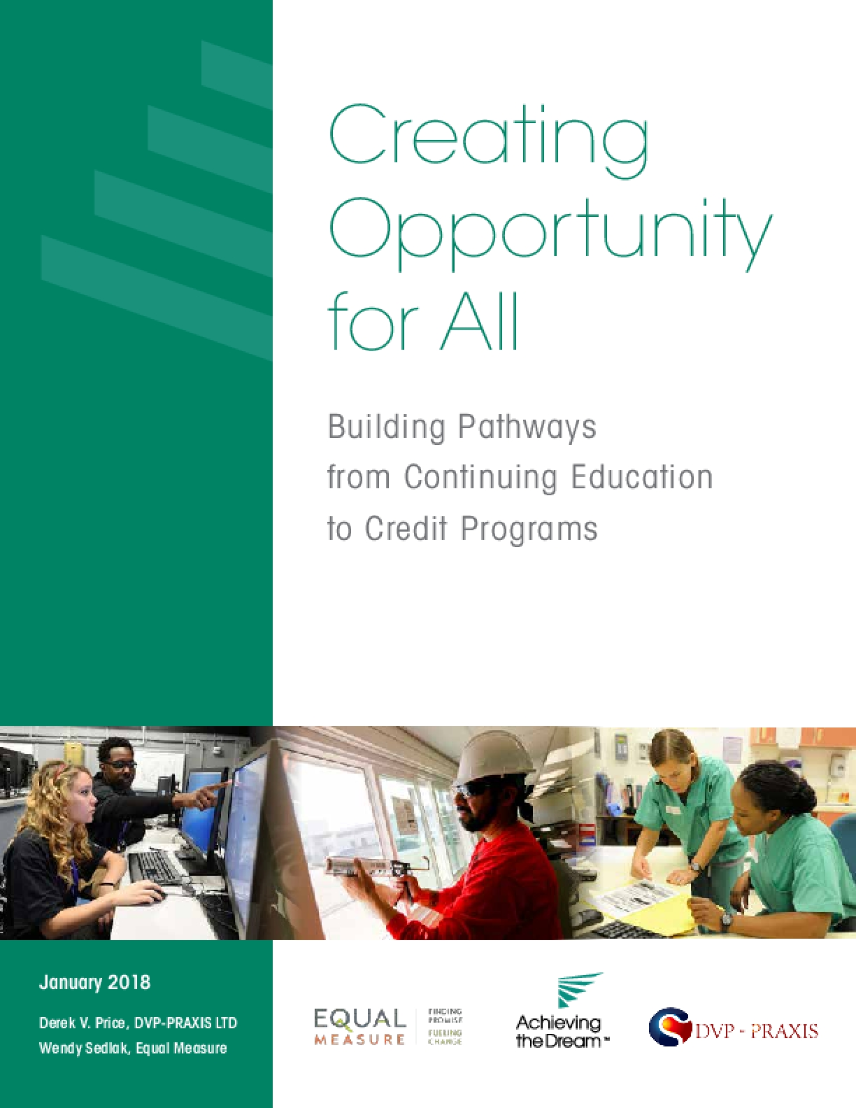 Creating Opportunity for All: Building Pathways from Continuing Education to Credit Programs