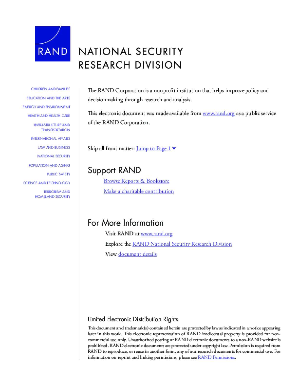 Threats Without Threateners? Exploring Intersections of Threats to the Global Commons and National Security