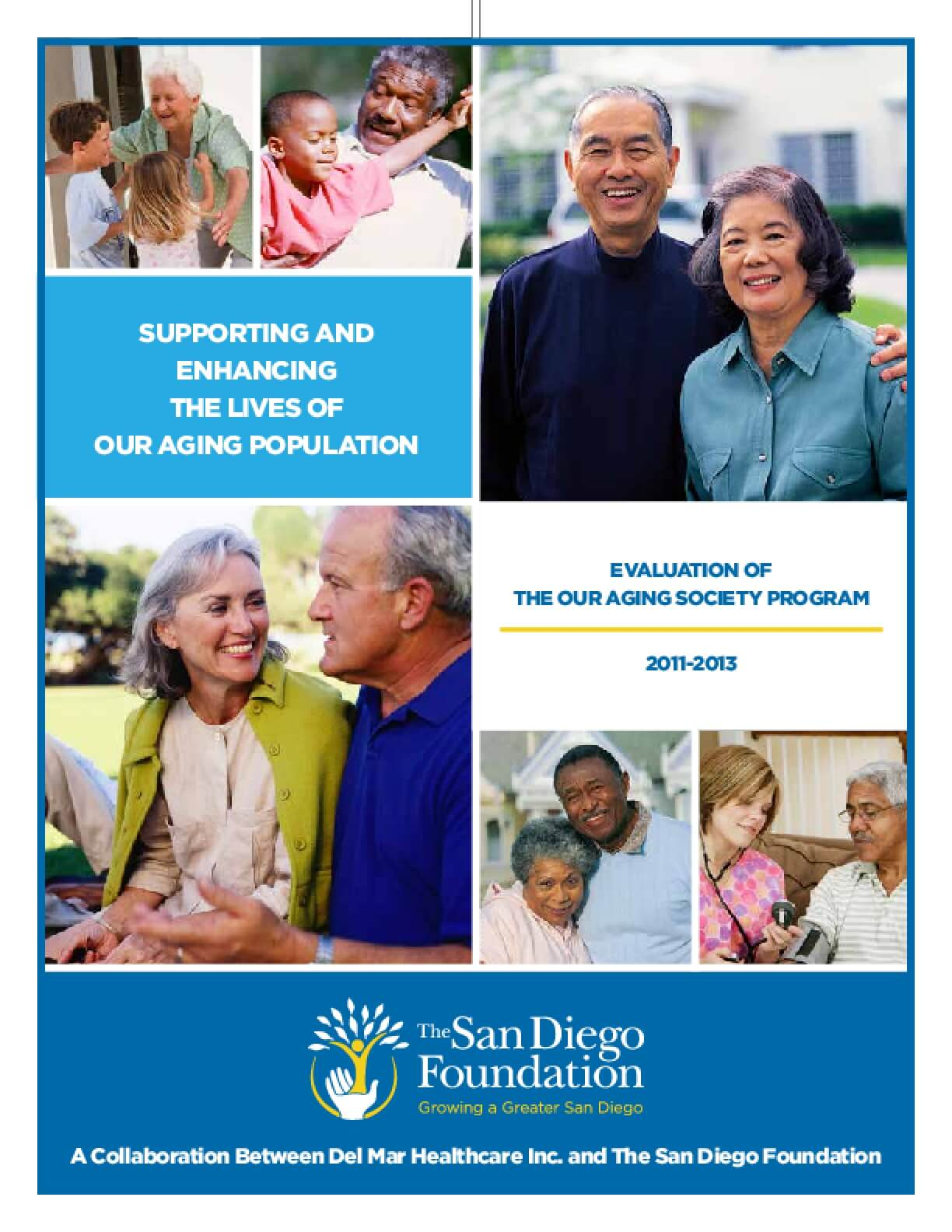 Supporting and Enhancing the Lives of Our Aging Population: Evaluation of Our Aging Society Program 2011-2013