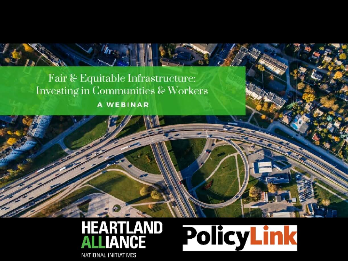 Fair & Equitable Infrastructure: Investing in Communities & Workers (WEBINAR)