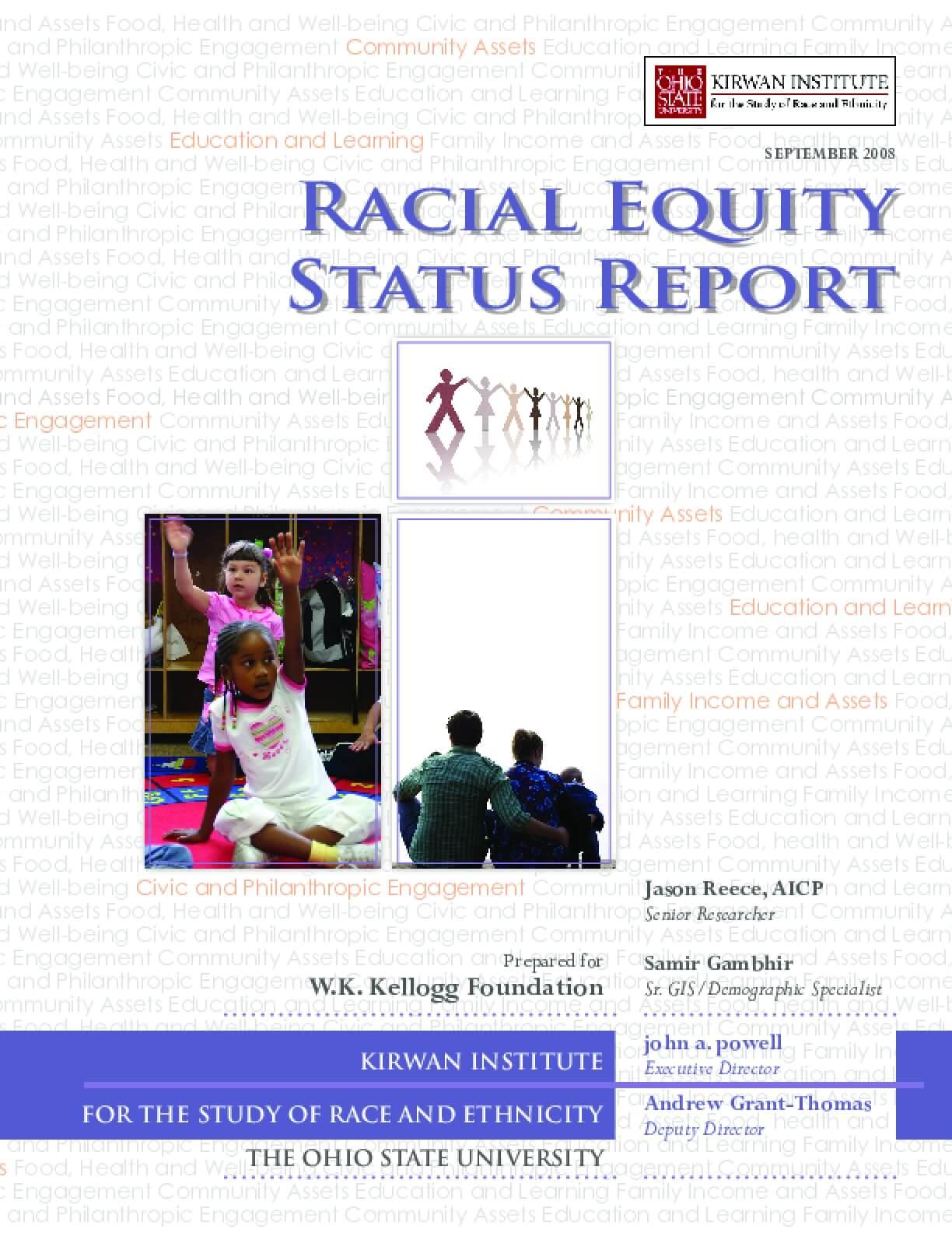 Racial Equity Status Report
