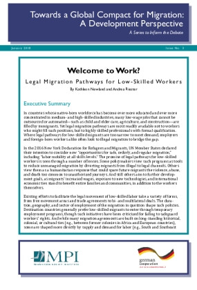 Welcome to Work? Legal Migration Pathways for Low-Skilled Workers