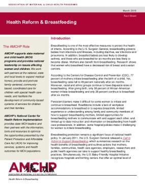 Health Reform & Breastfeeding