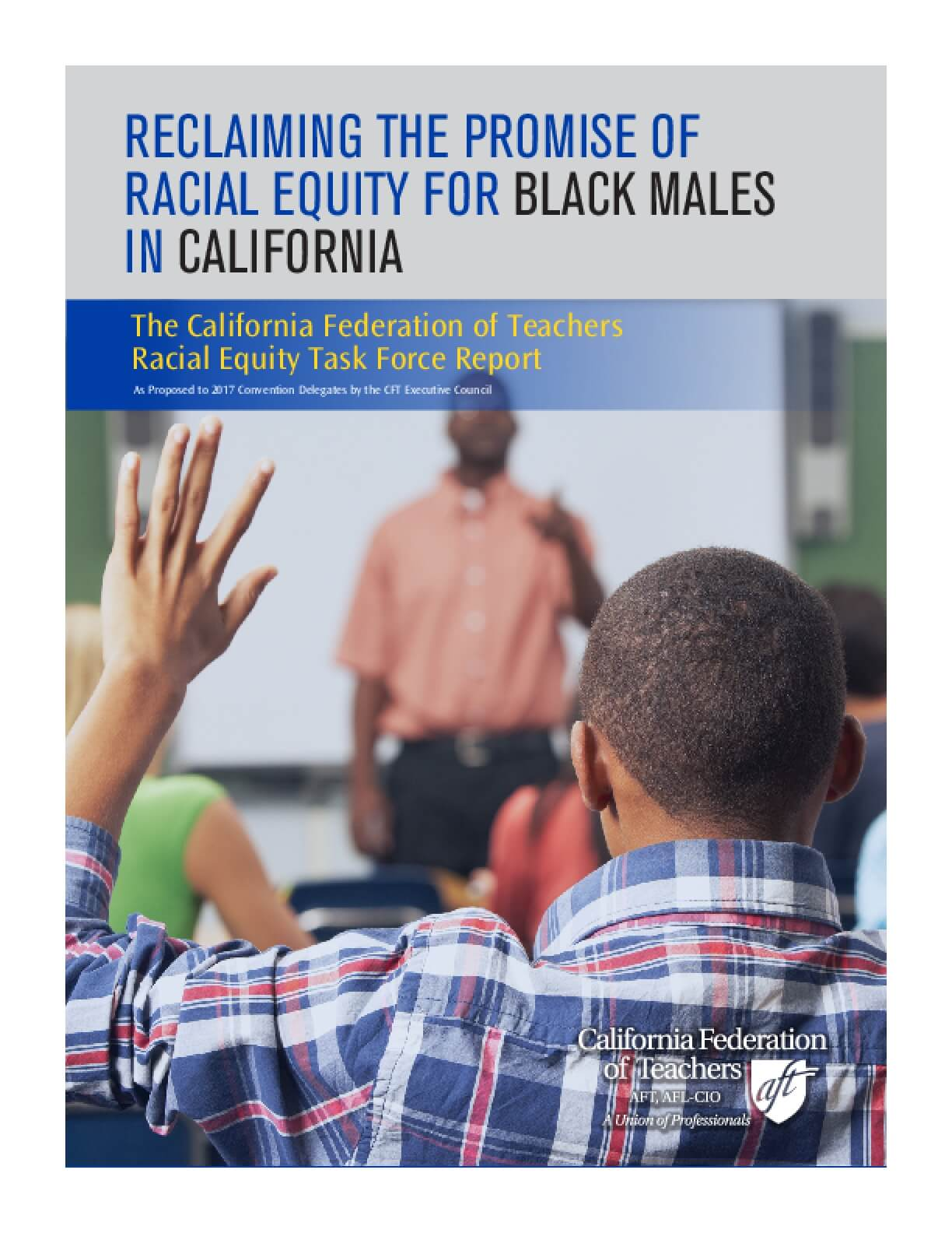 Reclaiming the Promise of Racial Equity for Black Males in California