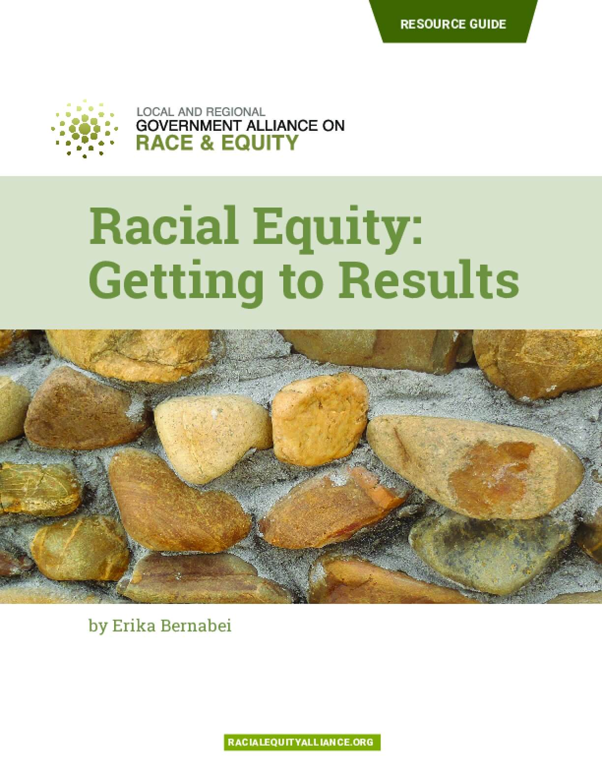 Racial Equity: Getting to Results