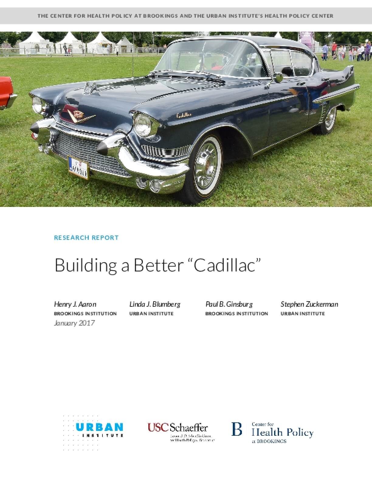 "Building a Better ""Cadillac"""