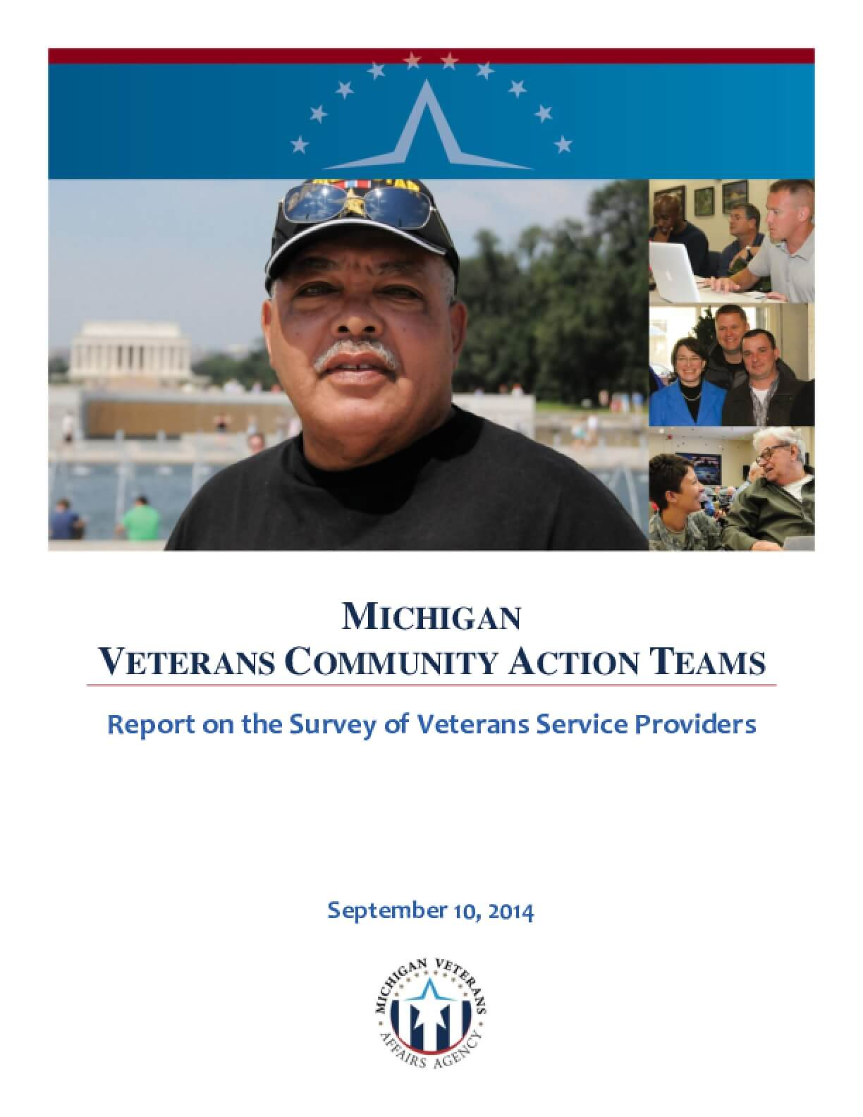Michigan Veterans Community Action Teams: Report On The Survey Of Veterans Service Providers