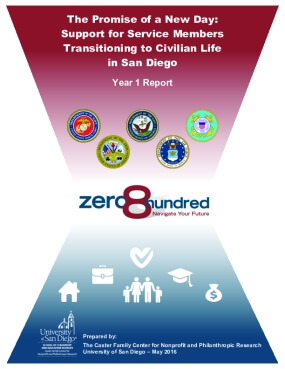 The Promise of a New Day: Support for Service Members Transitioning to Civilian Life in San Diego