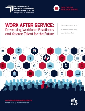 Work After Service: Developing Workforce Readiness and Veteran Talent for the Future