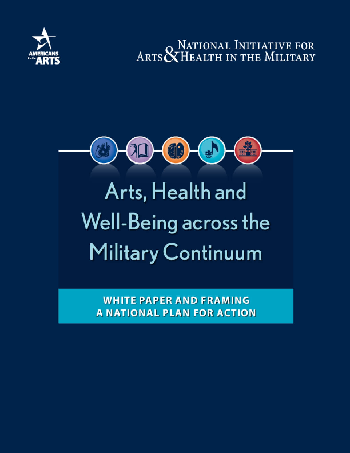 Arts, Health, and Well-Being Across the Military Continuum - White Paper and Framing a National Plan for Action