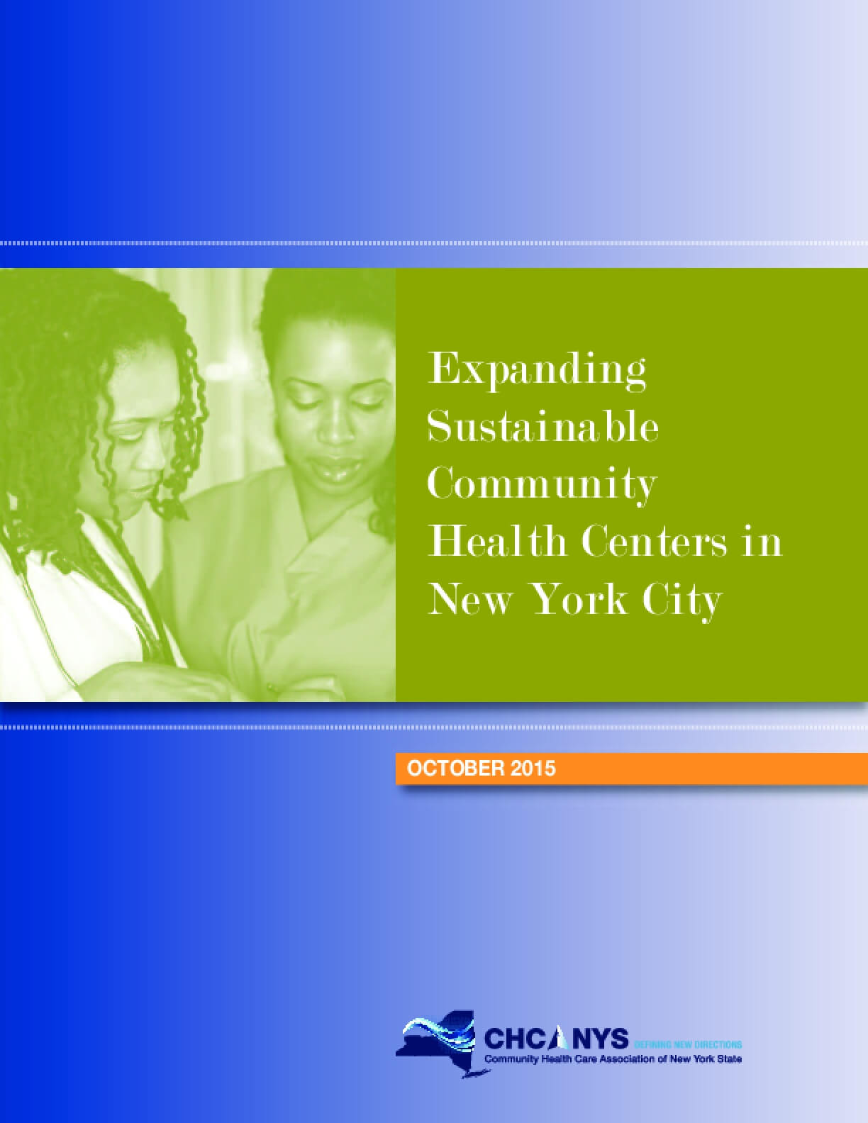 Expanding Sustainable Community Health Centers in New York City