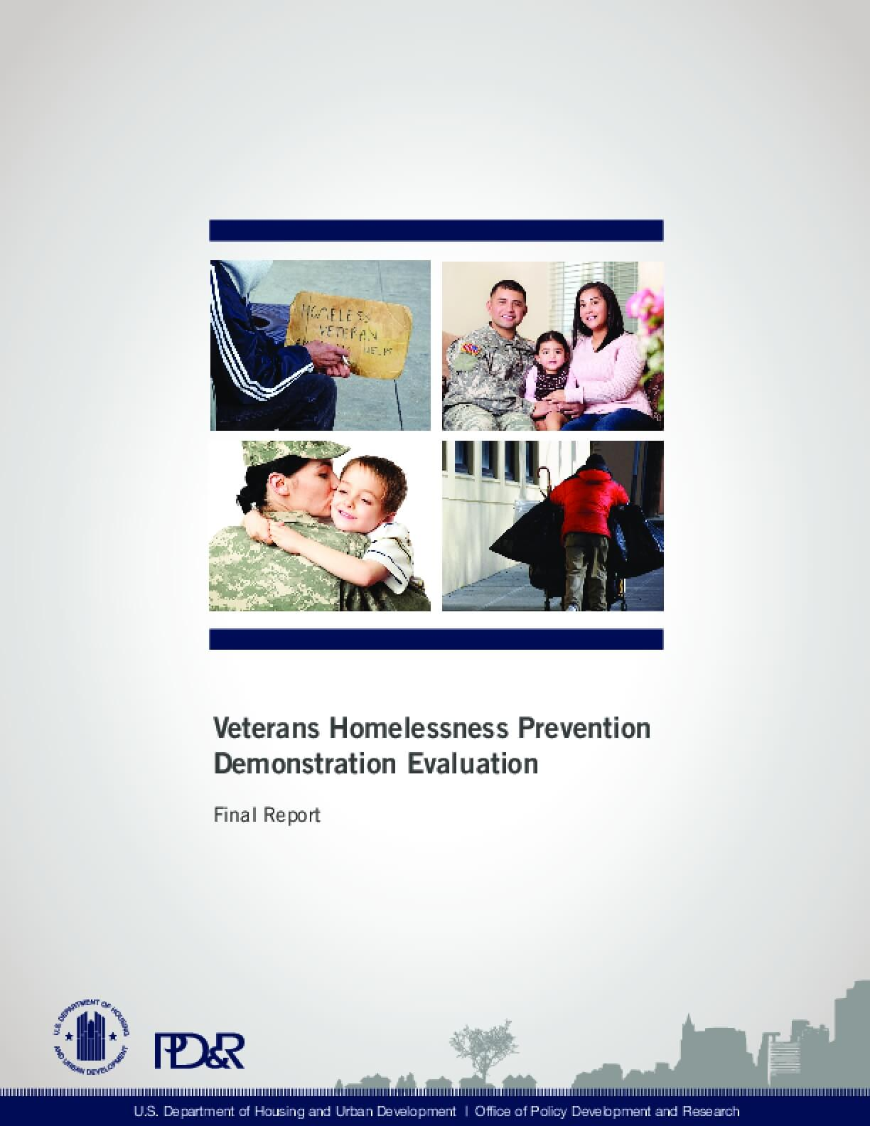 Veterans Homelessness Prevention Demonstration Evaluation