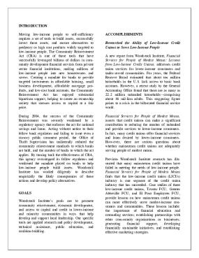 Woodstock Institute 2004 Annual Report