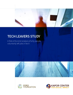 Tech Leavers Study: A first-of-its-kind analysis of why people volunarily left jobs in tech