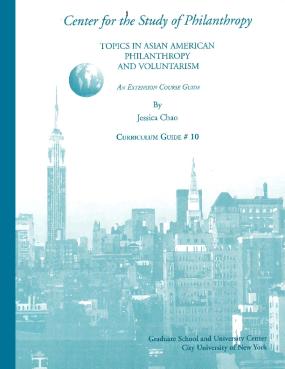 Topics in Asian American Philanthropy and Voluntarism