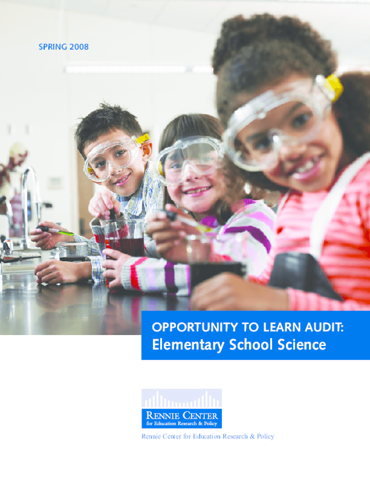 Opportunity to Learn Audit: Elementary School Science