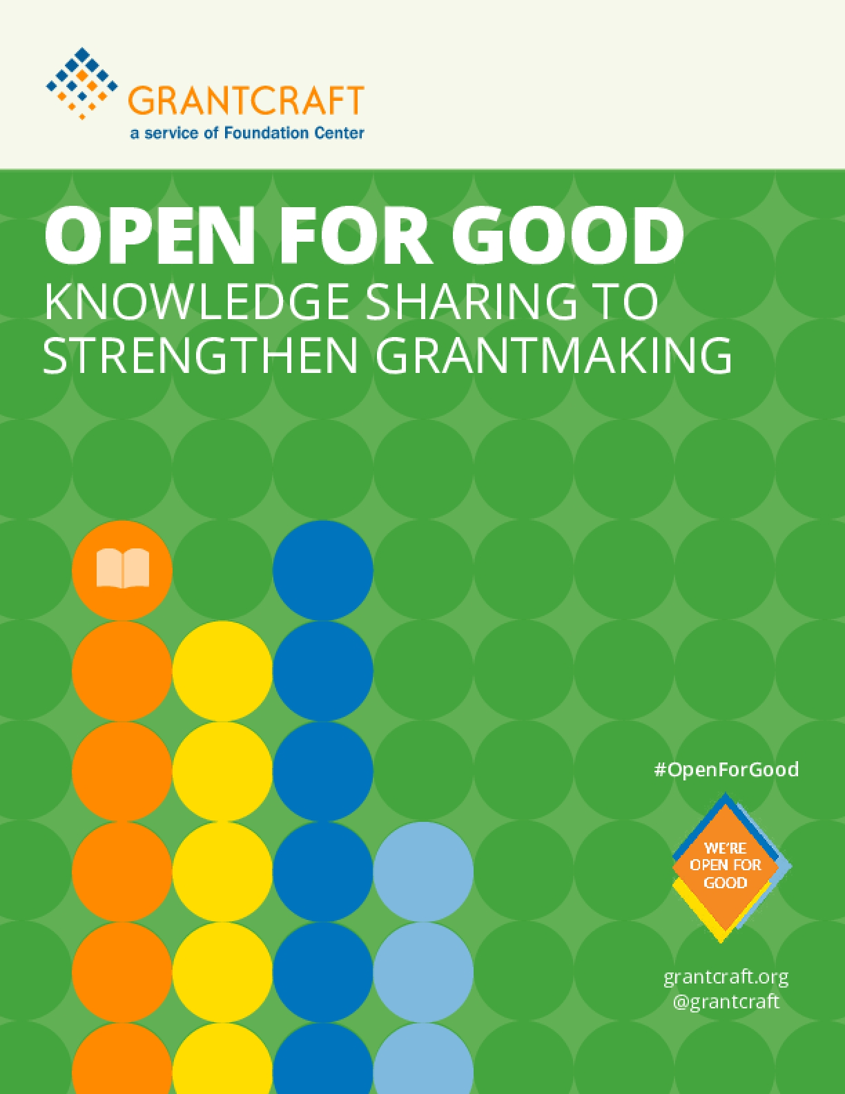 Open for Good: Knowledge Sharing to Strengthen Grantmaking