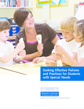 Seeking Effective Policies and Practices for Students with Special Needs