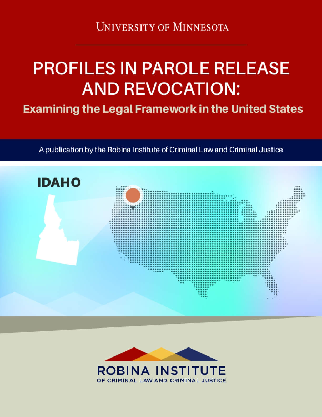 Profiles in Parole Release and Revocation Idaho