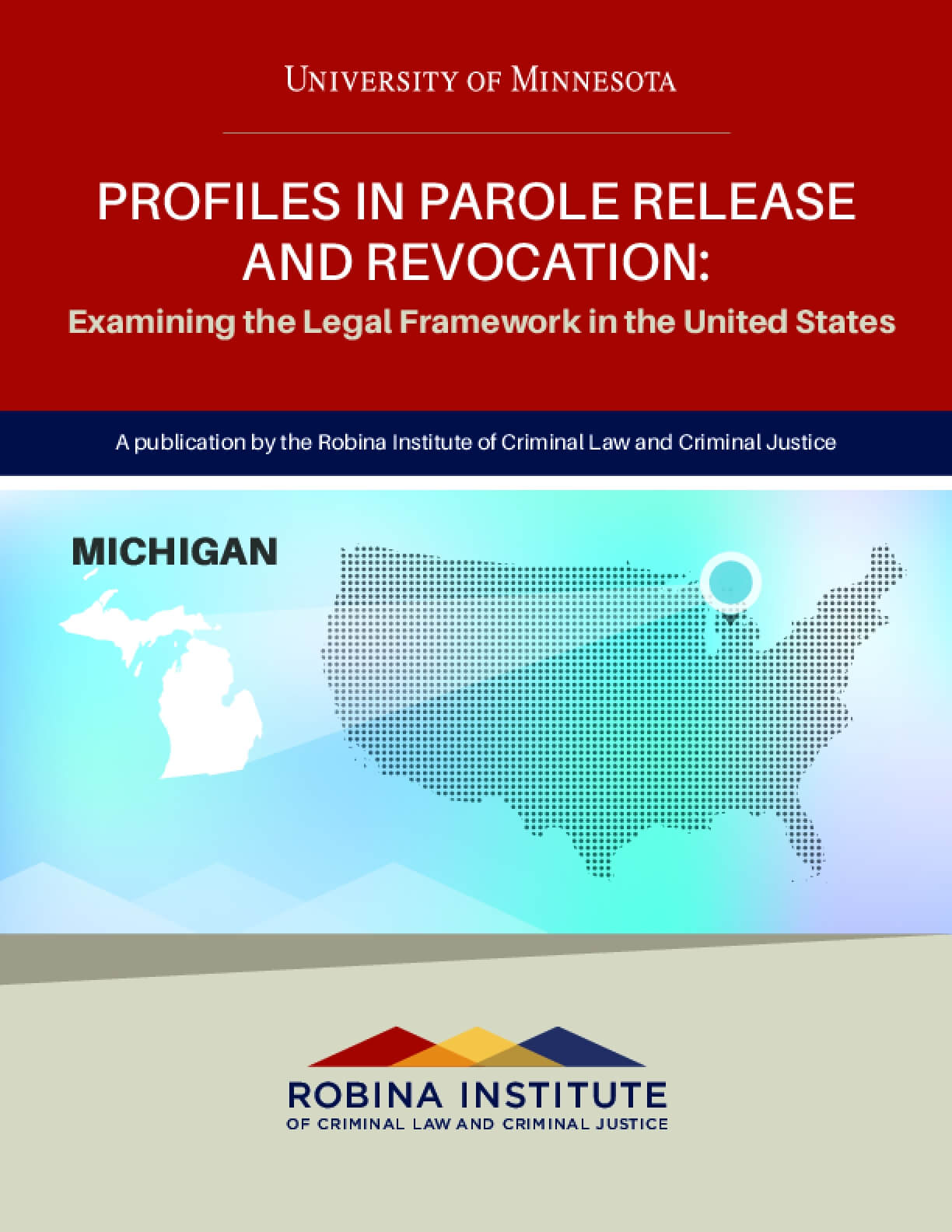Profiles in Parole Release and Revocation Michigan